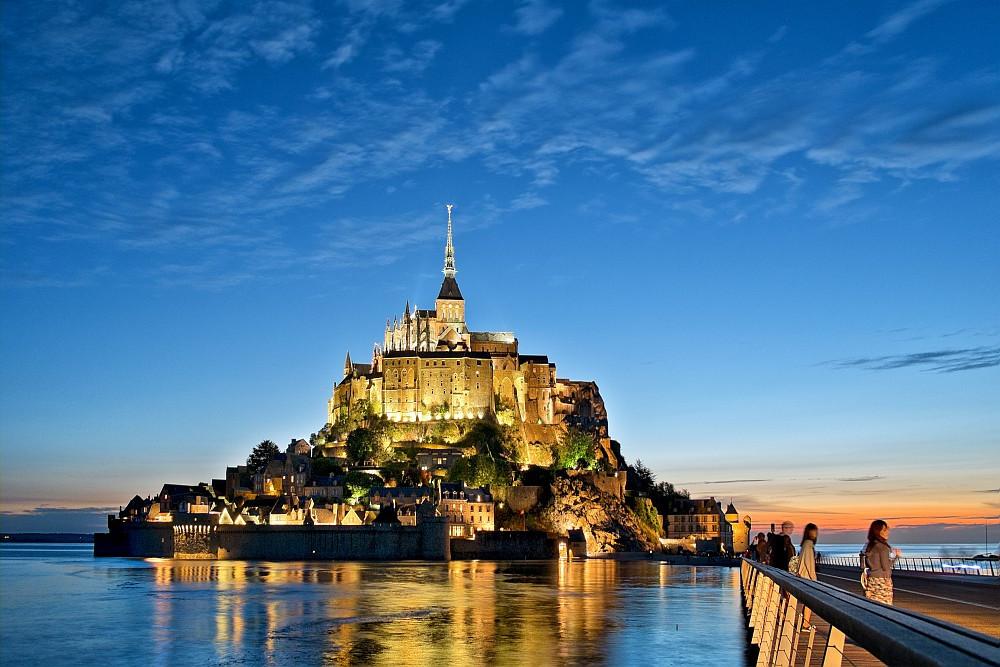 Marguerite se balade en Normandie